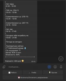 Telegram Bot + БД
