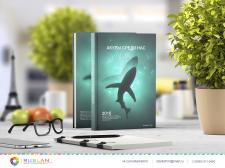Разработка дизайна обложки книги