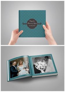 Верстка свадебного фотоальбома