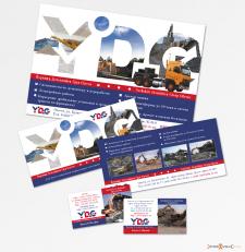 А4, еврофлаер и визитка