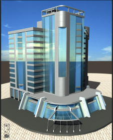 Бизнес центр / предпроектное предложение