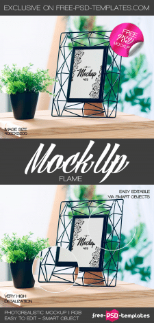 FREE FRAME MOCK-UP IN PSD