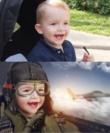 Детский коллаж