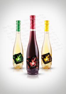 Этикетка для фруктового вина