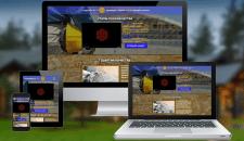 Лендинг строительных материалов (все платформы)