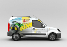 Брендирование авто Baltic Forklift