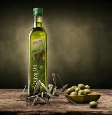Этикетка оливкового масла