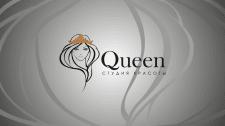 Логотип для студии красоты Queen