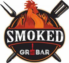 """Логотип гриль-бара """"Smoked"""""""