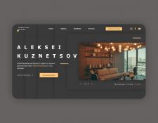 Лендинг Kuznetsov design studio