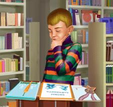 В книжковому магазині