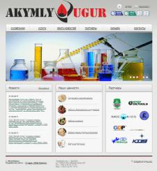 Сайт визитка Akymly Ugur