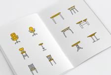 Иконки стульев и столов