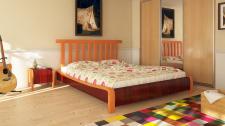 Моделирование кровати и комнаты