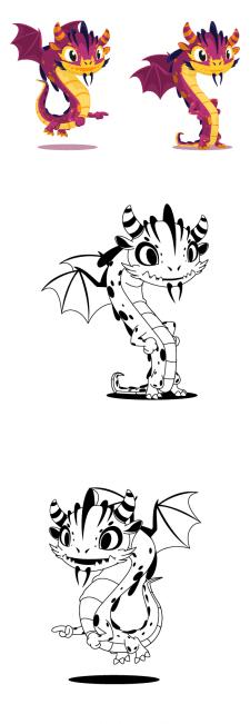 Дракон персонаж