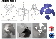 Axial Pump Impeller