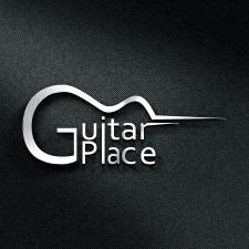 Логотип для курсов игры на гитаре