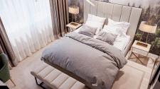 Спальня в стилистике Скандинавского дизайна