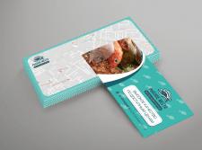 Разработка дизайна флаера для рыбного магазина