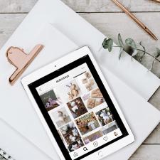 Разработка визуального стиля instagram