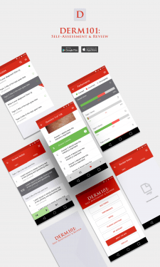 Derm101 iOS, Android, WP додаток