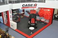 CASE ih - expo stand