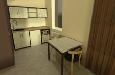 Гостиница, типовой апартамент №55