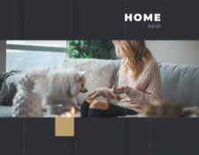 "Home Monitoring App ""HOME"""