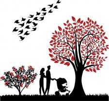 Иллюстрация на обложку блокнотов