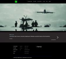 Сайт для музыкального лейбла