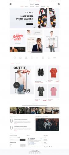 Интернет магазин на Wordpress премиум December