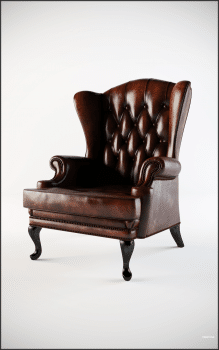 Античное кресло