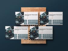 Дизайн визиток для фотографа