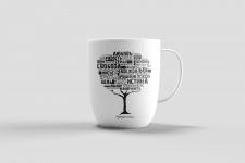 Дизайн принта на чашку