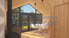Модульный дом - интерьер