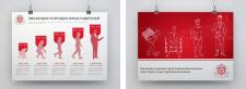 Дизайн плакатов для компании Apologist Club