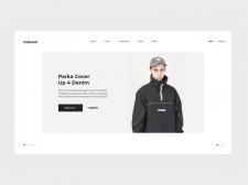 Магазин уличной одежды | Концепт