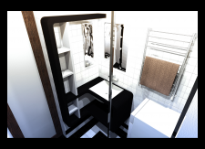 Разработка дизайна ванной комнаты. г. Москва.