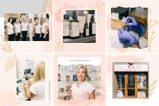 Оформление instagram для салона красоты