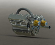 Двигатель V12
