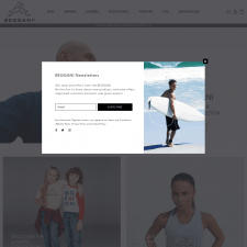 Beggani - Shopify интернет-магазин
