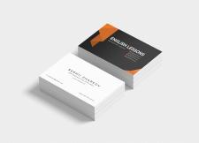 Дизайн визитки веб-дизайнера