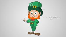 Lucky King Персонаж