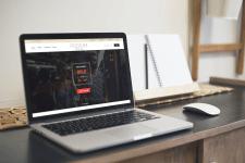 Дизайн интернет магазина-каталога вещей