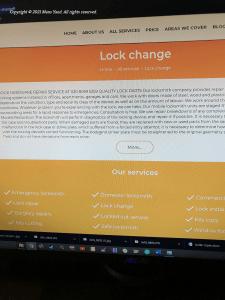 "SEO текст для раздела ""Lock Change"""