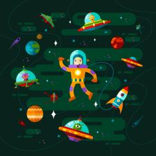 Космос.