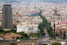 Рамбла — главная пешеходная улица Барселоны: прохо
