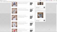 Наполнение сайта серебряными украшениями