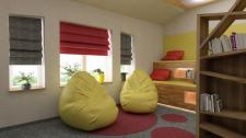 Комната для отдыха айтишников