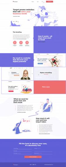 Setsargsyan - сайт WEB-дизайнера